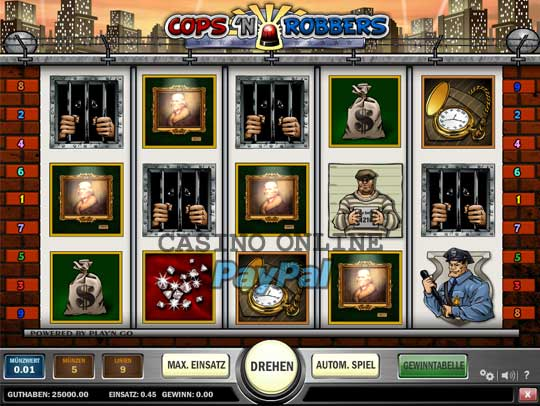 online casino mit paypal cops and robbers slots